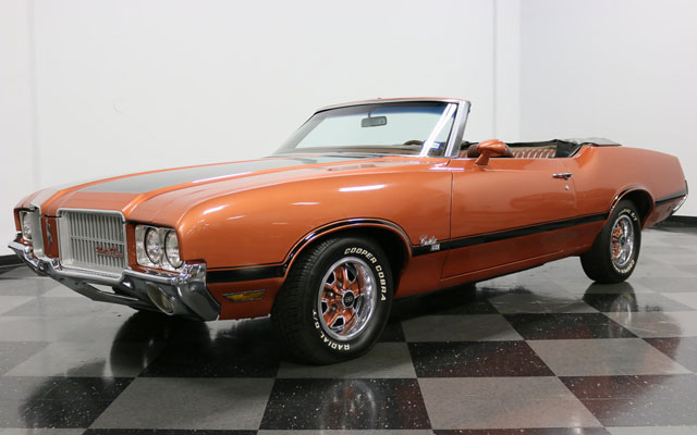 1971 Oldsmobile Cutlass SX Convertible DEAL of the DAY