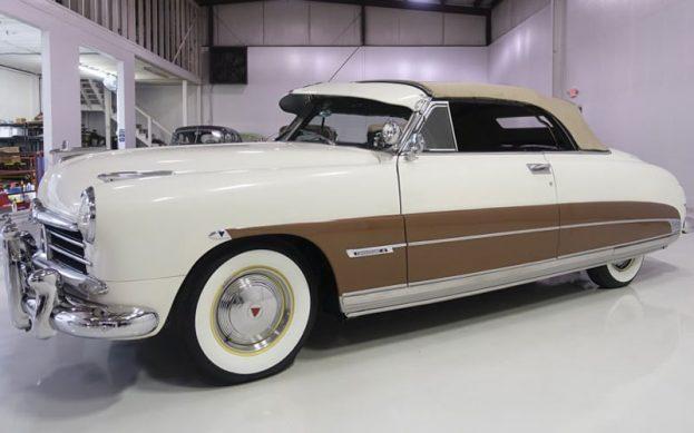Steve McQueen's 1950 Hudson Convertible