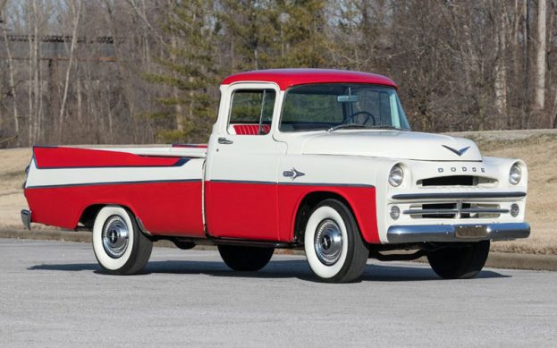 1957 Dodge D100 Sweptside Pickup