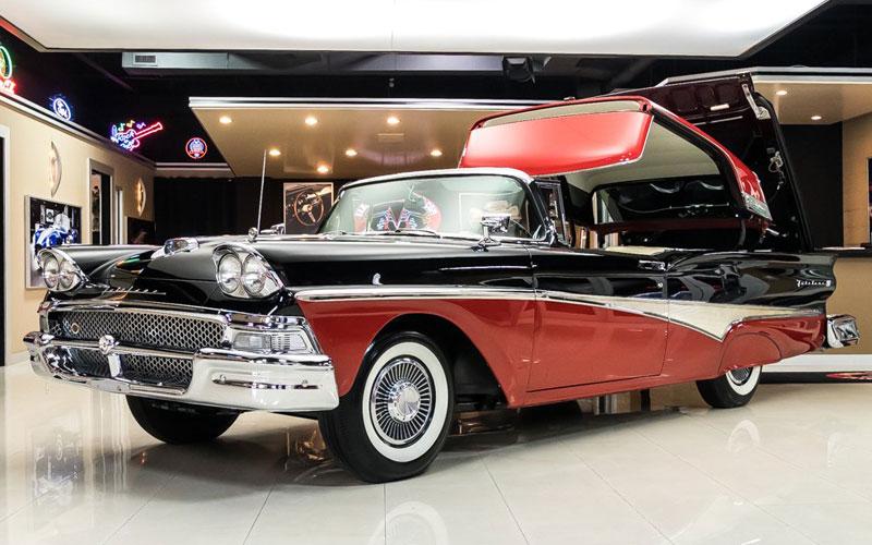 1958 Ford Skyliner Retractable Hardtop