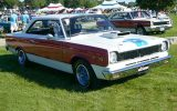 1969 AMC Hurst SC/Rambler muscle car