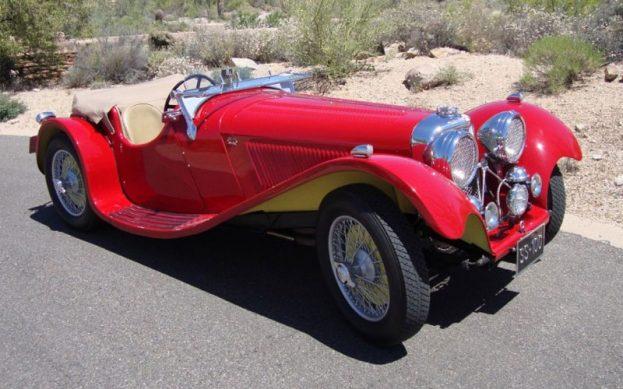 SS 100 Jaguar roadster