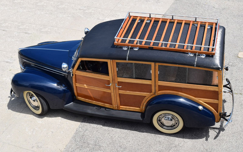 classic woody wagon
