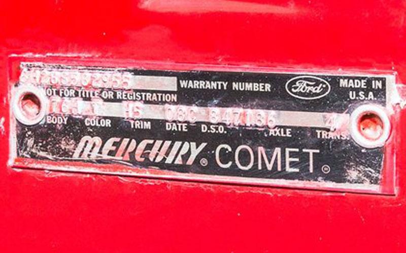 1966 Mercury Cyclone GT Pace Car Convertible