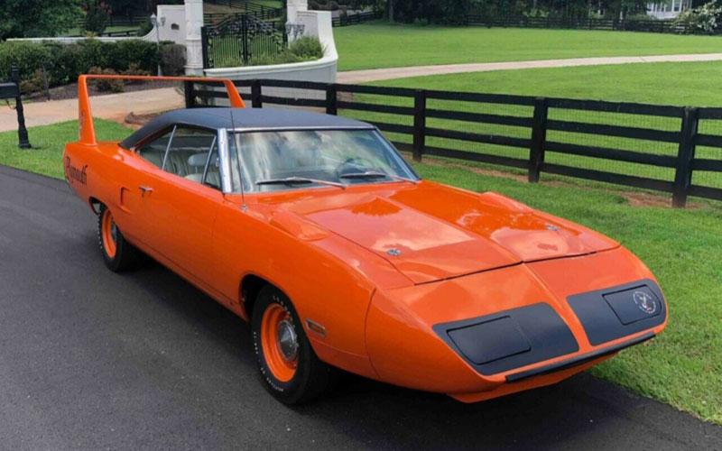 Vitamin C Orange 1970 Plymouth Superbird