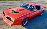 Mayan red 1978 Pontiac Trans Am
