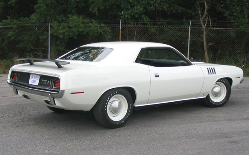 best looking Hemi Cuda