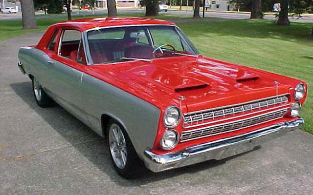 1966 Mercury Comet Resto Mod