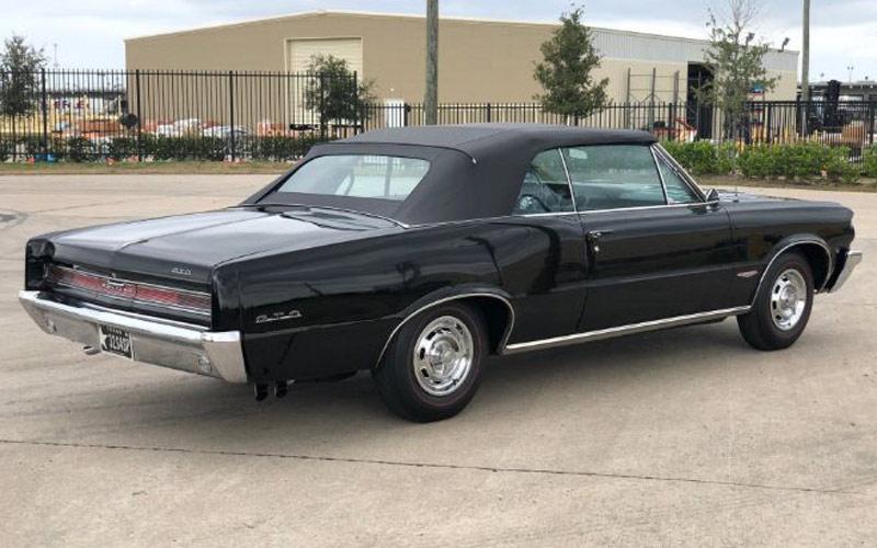 triple black 1964 Pontiac GTO Convertible