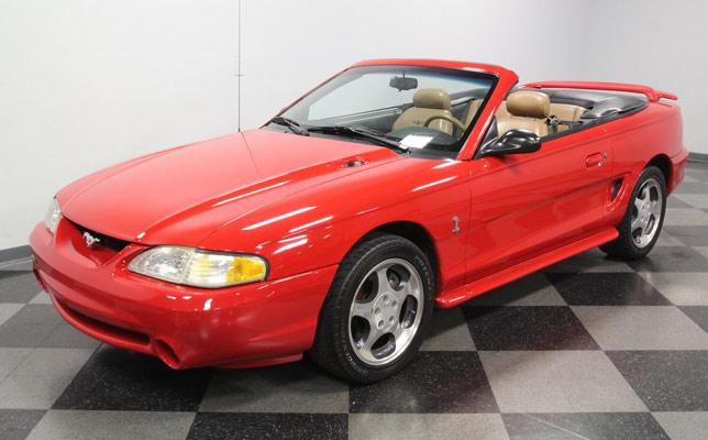 1994 Mustang SVT Cobra Indy Pace Car
