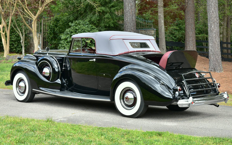 1939 Packard 1707 Coupe Roadster