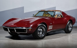 photogenic 1969 Corvette Coupe