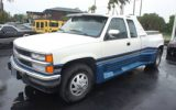 "Chevy Silverado with ""Testarossa"" body styling"