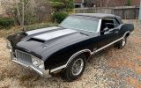 Triple Black 1970 Oldsmobile 442 W-30 Convertible