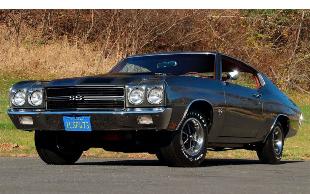 Shadow Gray 1970 Chevelle SS LS6 454