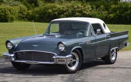 resto mod 1957 Ford Thunderbird