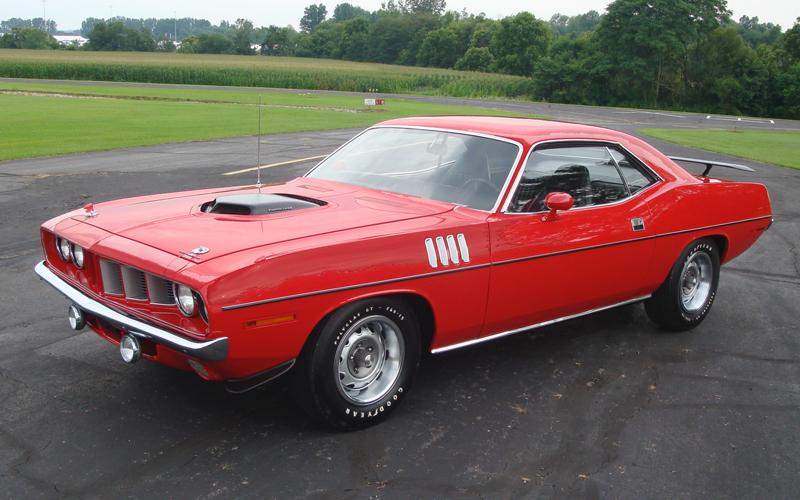 OE Gold 1971 Plymouth Hemi Cuda