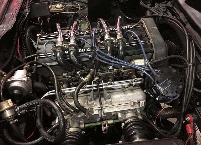 Cosworth Vega 16-valve Twin Cam engine