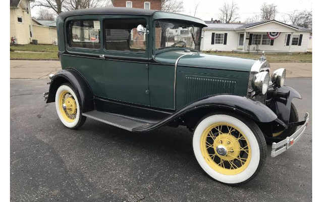 A 1930 Model A Ford Tudor Sedan became the featured Deal of the Day for the coming week. It was selected in this weekend's Cars-On-Line newsletter
