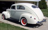 old school Ford Tudor Sedan