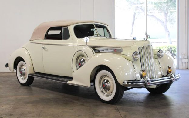 1939 Packard 1703 Convertible Coupe