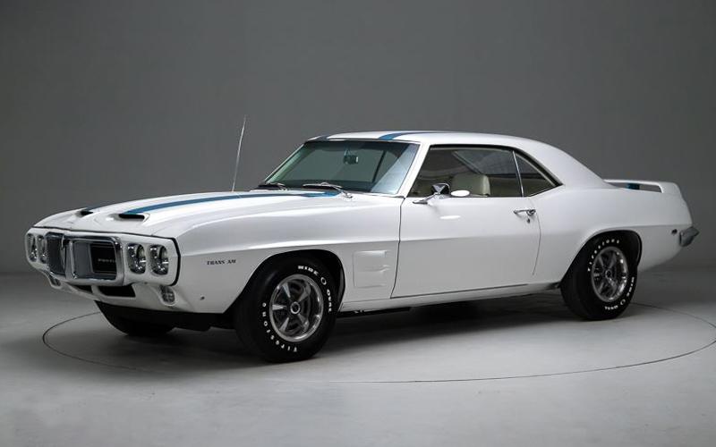 Cameo White 1969 Pontiac Trans Am