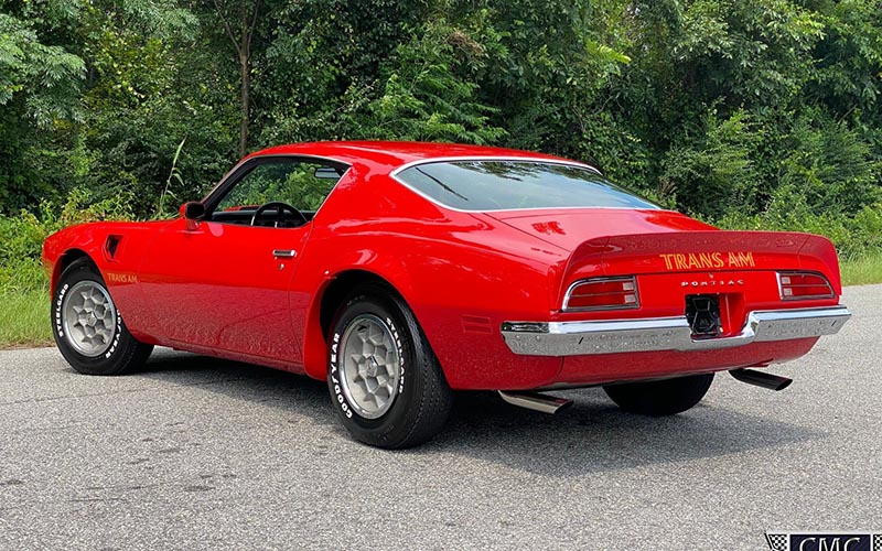 1973 Pontiac Super Duty Trans Am