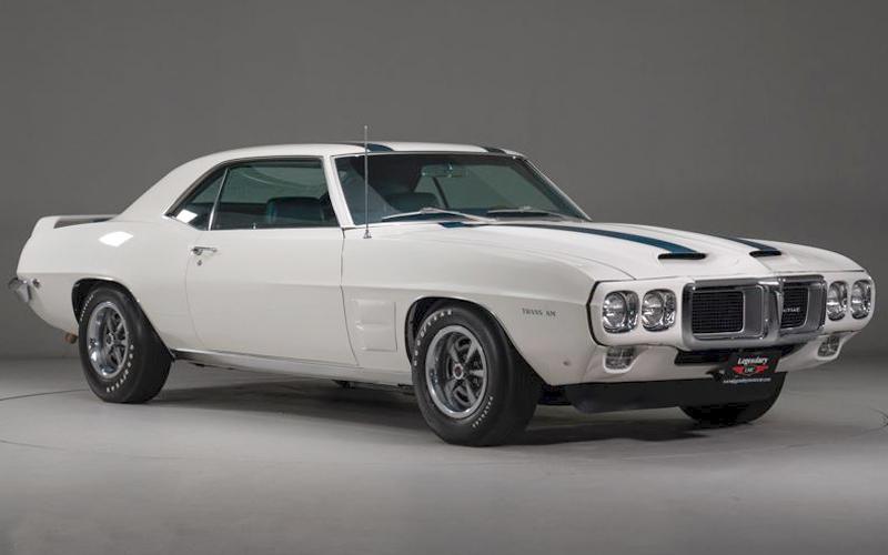 Rare 1969 Pontiac Trans Am.