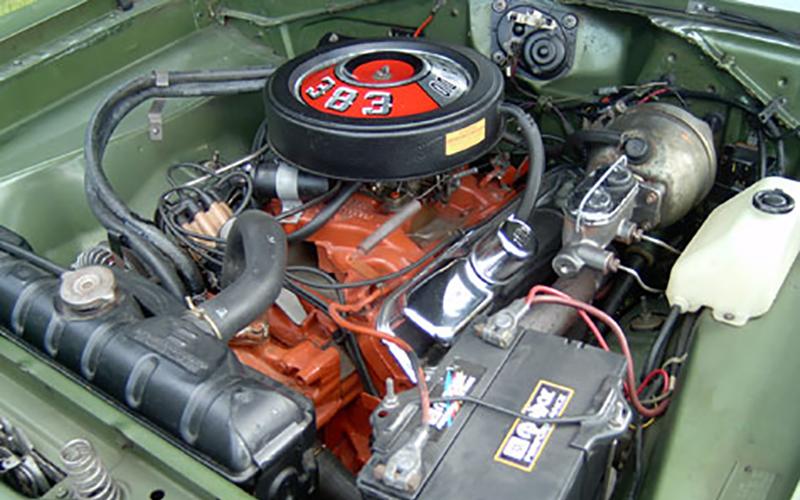 1969 Plymouth Cuda A57 383 ci V8
