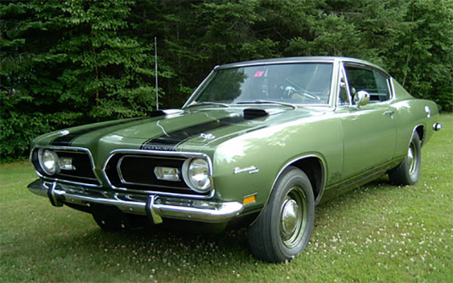 1969 Plymouth Cuda A57