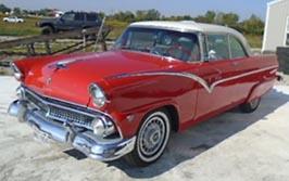 1955 Ford Fairlane Victoria, $22,750